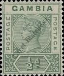 Stamp Gambia Catalog number: 20