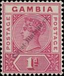 Stamp Gambia Catalog number: 21