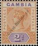 Stamp Gambia Catalog number: 22