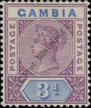 Stamp Gambia Catalog number: 24