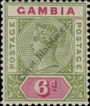 Stamp Gambia Catalog number: 26