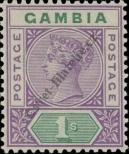 Stamp Gambia Catalog number: 27