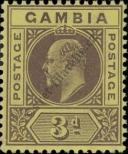 Stamp Gambia Catalog number: 55