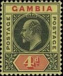 Stamp Gambia Catalog number: 56