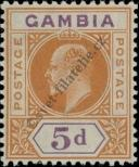 Stamp Gambia Catalog number: 57