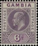 Stamp Gambia Catalog number: 58