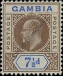 Stamp Gambia Catalog number: 59