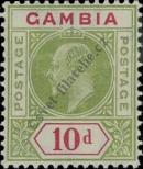 Stamp Gambia Catalog number: 60