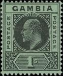 Stamp Gambia Catalog number: 61