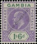 Stamp Gambia Catalog number: 62