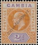 Stamp Gambia Catalog number: 30