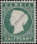 Stamp Gambia Catalog number: 12