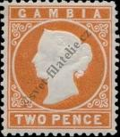 Stamp Gambia Catalog number: 14