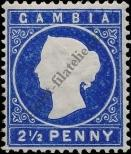 Stamp Gambia Catalog number: 15