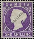 Stamp Gambia Catalog number: 19