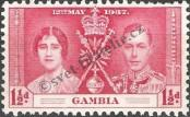 Stamp Gambia Catalog number: 121