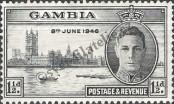 Stamp Gambia Catalog number: 139