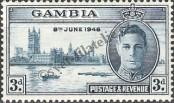 Stamp Gambia Catalog number: 140