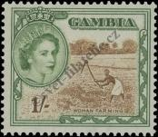 Stamp Gambia Catalog number: 155