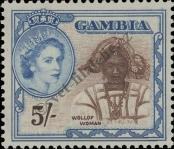 Stamp Gambia Catalog number: 160