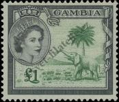 Stamp Gambia Catalog number: 162