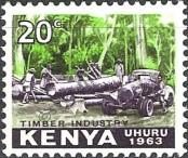 Stamp Kenya Catalog number: 4