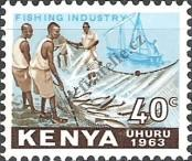 Stamp Kenya Catalog number: 6