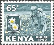 Stamp Kenya Catalog number: 8