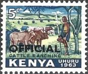 Stamp Kenya Catalog number: 1