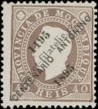 Stamp Mozambique Catalog number: 45/A