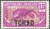 Stamp Chad Catalog number: 6