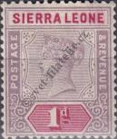 Stamp Sierra Leone Catalog number: 25
