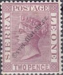 Stamp Sierra Leone Catalog number: 15