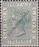 Stamp Sierra Leone Catalog number: 16