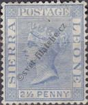 Stamp Sierra Leone Catalog number: 17
