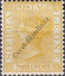 Stamp Sierra Leone Catalog number: 18