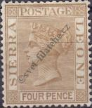 Stamp Sierra Leone Catalog number: 20