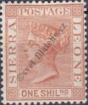 Stamp Sierra Leone Catalog number: 21