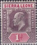 Stamp Sierra Leone Catalog number: 56