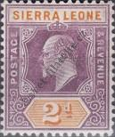 Stamp Sierra Leone Catalog number: 58