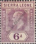 Stamp Sierra Leone Catalog number: 76
