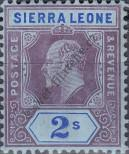 Stamp Sierra Leone Catalog number: 78