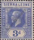 Stamp Sierra Leone Catalog number: 105