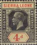 Stamp Sierra Leone Catalog number: 106