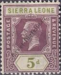Stamp Sierra Leone Catalog number: 107