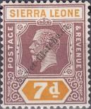 Stamp Sierra Leone Catalog number: 109