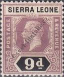 Stamp Sierra Leone Catalog number: 110