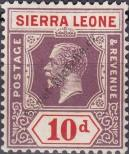 Stamp Sierra Leone Catalog number: 111