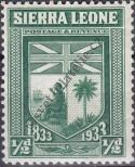 Stamp Sierra Leone Catalog number: 131