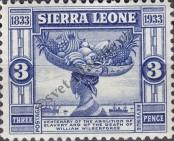Stamp Sierra Leone Catalog number: 135